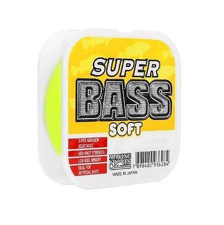 Linha Mono Marine Sports Super Bass Soft 0,37 - Amarela