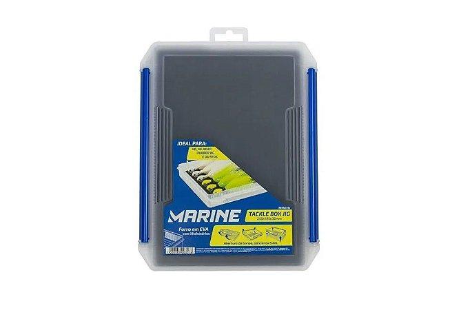 Estojo Marine Sports Tackle Box Jig - 18 Divisórias