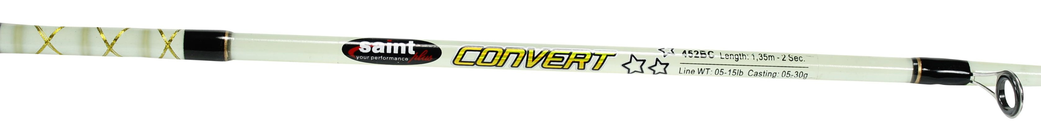 Vara Saint Plus Convert 902BC 2,70m Carretilha 5-15lbs