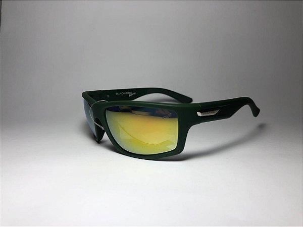 Óculos Polarizado Para Pesca Black Bird Fishing Verde