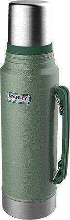 Garrafa Térmica Classic Stanley Verde C/Rolha Precisão 1L