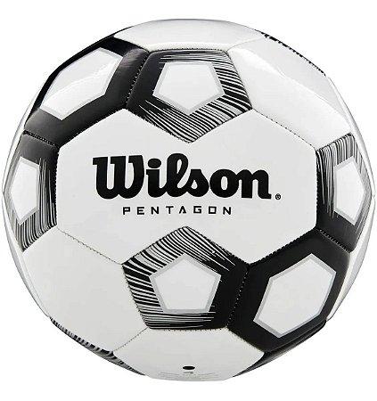 Bola De Futebol Wilson Pentagon Preto