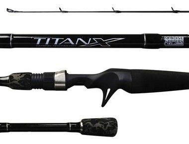 Vara Marine Sports Titan X 1,83m 17Lbs  2 Partes Carretilha