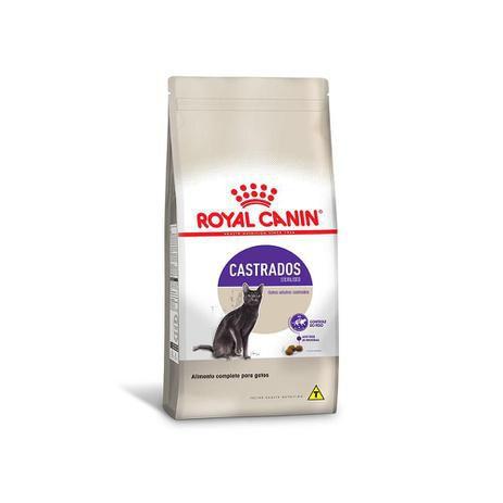 Ração Royal Canin Gatos Castrados Sterilised 1,5kg