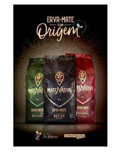 Erva Mate Nativo Premium Original Nativa 1kg
