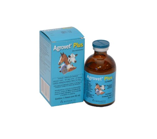 Antibiótico Injetável Agrovet Plus 50ml