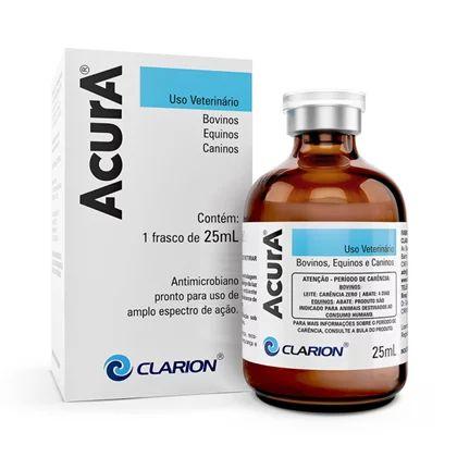Antimicrobiano Acura Injetável 25ml