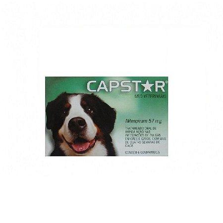 Antipulgas e carrapatos Capstar Cães Acima De 11kg 6 Comprimidos