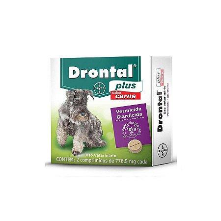 Drontal Plus 2 Comprimidos Para Cães Até 10 Kg