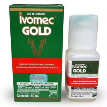 Ivermectina Ivomec Gold 50ml
