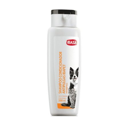Shampoo Condicionador Antipulgas Antisséptico IBASA 200ml
