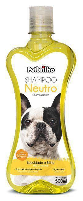 Shampoo Neutro 500ml Petbrilho