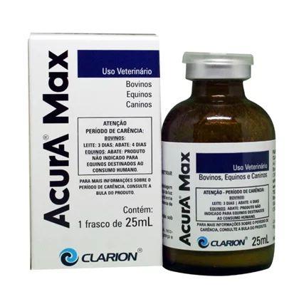 Antimicrobiano Acura MAX Injetável 25ml