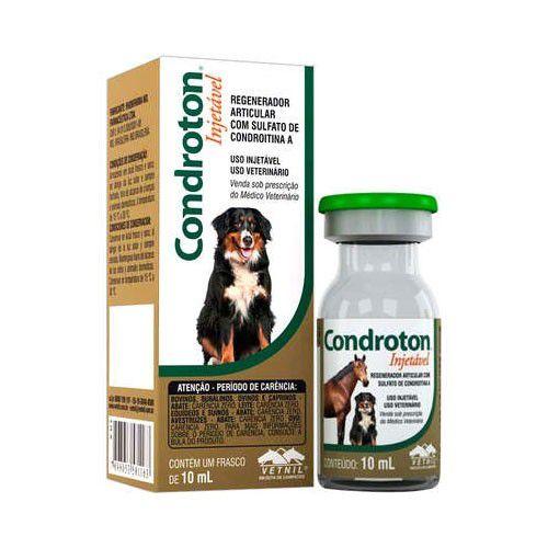 Condroton injetável 10ml vetnil