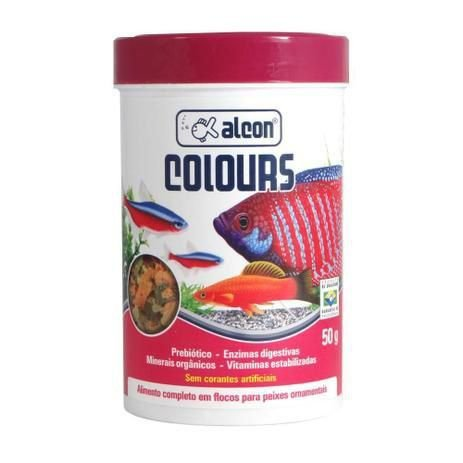 Alimento Alcon Colours - Para Peixes Ornamentais