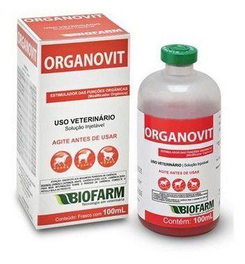Modificador Orgânico Organovit Injetável