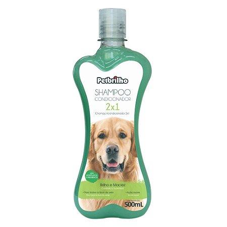 Shampoo condicionador 2x1 Petbrilho