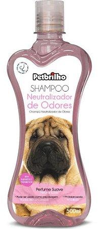 Shampoo Neutralizador de Odores 500ml Petbrilho