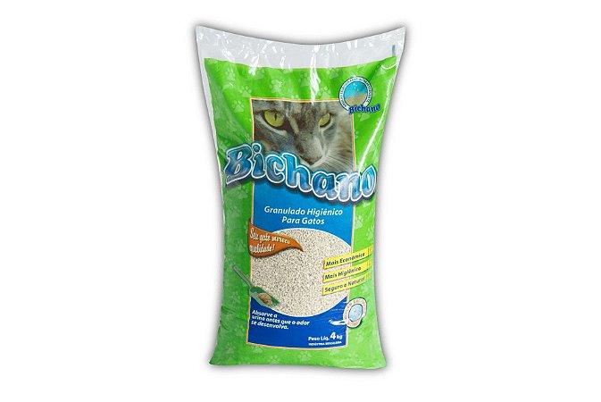 Areia Higiênica para Gatos - Bichano - 4 Kg x 5 Sacos