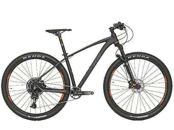 BICICLETA 29 OGGI BIG WHEEL 7.3 SRAM SX 1X12 V. PTO\GRAF\LARANJA (2020)