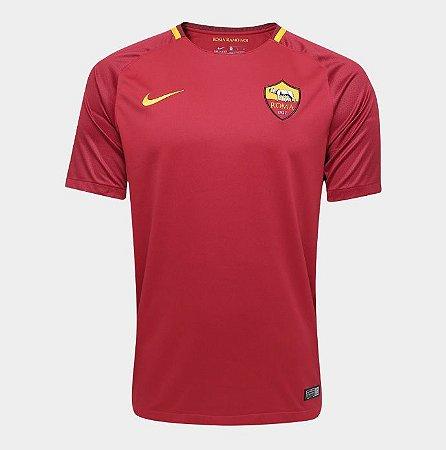 Camisa Roma home 17 18 s n nike torcedor masculina vinho - Outlet Tenis a35afacd36f49