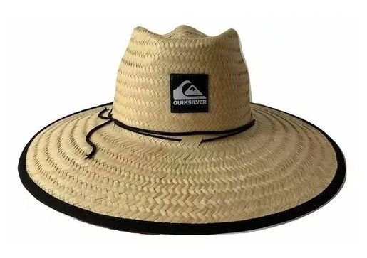 Chapéu De Palha Quiksilver Pierside Surf - Estampas Aleatorias ... 20226af2b51