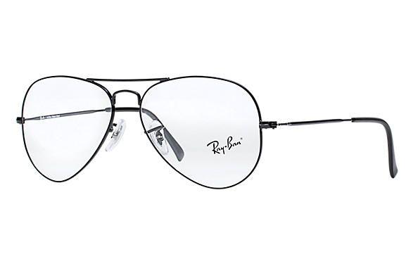 41bdd935b RAY-BAN AVIATOR - PRETO - Óculos Pronto