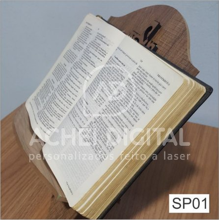 Suporte para Bíblia MDF 6mm 30x20cm