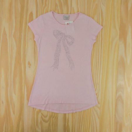 Camiseta Rosa Infantil Zara Girls