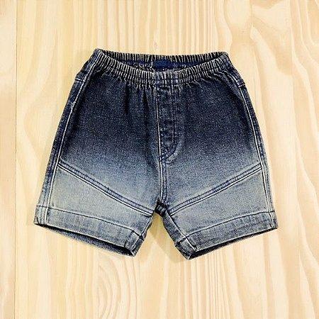 Shorts Jeans Azul Marinho Infantil Tilly Baby