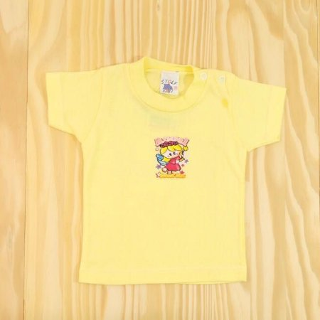 Camiseta Amarela Infantil Stolf Baby