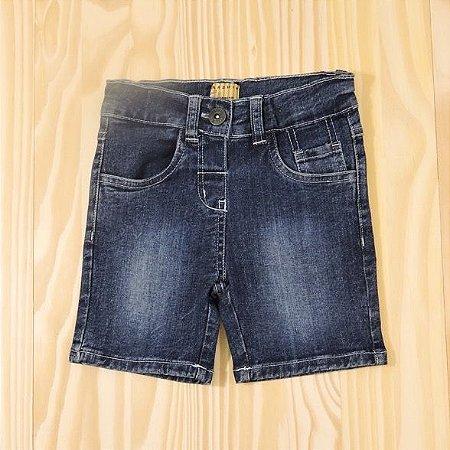 Bermuda Jeans Infantil Mineral