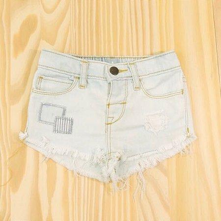 Shorts Jeans Azul Claro Infantil Baby Gap