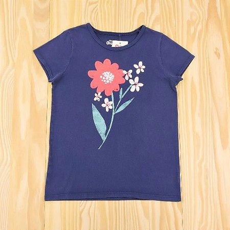 Camiseta Roxa Estampada Infantil OshKosh B'Gosh