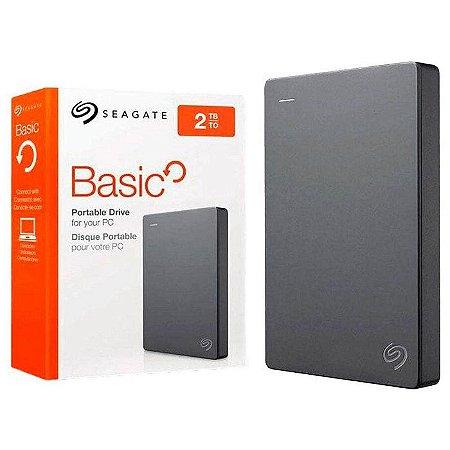 HD 2000GB USB 3.0 STJL2000400 EXTERNO BASIC SEAGATE BOX