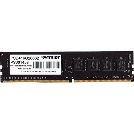 MEMORIA 16GB DDR4 2666 MHZ DESKTOP PSD416G26662 PS001453 PATRIOT BOX