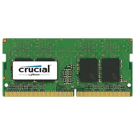 MEMORIA 4GB DDR4 2400 MHZ NOTEBOOK CT4G4SF824A CRUCIAL BOX