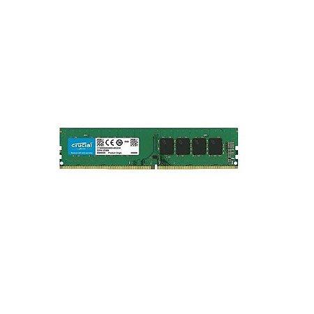 MEMORIA 8GB DDR4 2666 MHZ DESKTOP CB8GU2666.C8ET CRUCIAL BOX