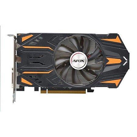 PLACA DE VIDEO 2GB PCIEXP RX 550 AFRX550-2048D5H7 128BITS GDDR5 AFOX BOX