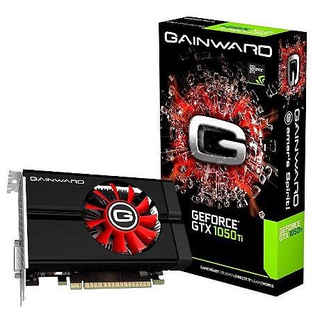 PLACA DE VIDEO 4GB PCIEXP GTX 1050 TI NE5105T018G1-1070F 128BITS GDDR5 GEFORCE DP HDMI DVI-D GAINWARD / PALIT BOX