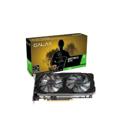 PLACA DE VIDEO 6GB GTX 1660 1-CLICK OC 60SRH7DSY91C GDDR5 192 BITS GEFORCE DP HDMI DVI-D GALAX BOX