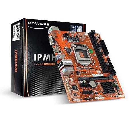 PLACA MAE 1151 MICRO ATX IPMH110G DDR4 CX PARDA PCWARE BOX
