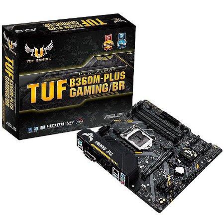 PLACA MAE 1151 MICRO ATX TUF B360M-PLUS GAMING/BR DDR4 ASUS BOX