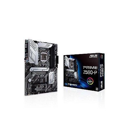 PLACA MAE LGA 1200 ATX Z590-P PRIME DDR4 DP/HDMI USB 3.0 ASUS BOX