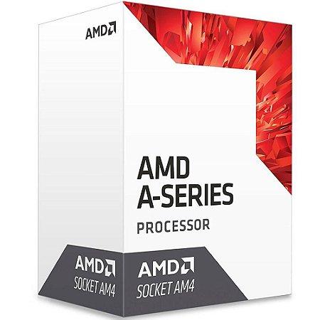 PROCESSADOR AM4 A8 9600 3.4 GHZ BRISTOL RIDGE 2 MB CACHE QUAD CORE AMD BOX