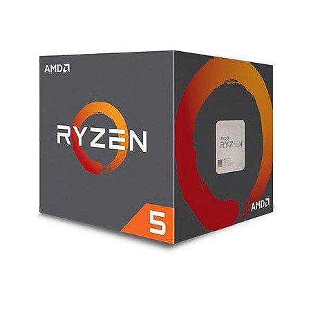 PROCESSADOR AM4 RYZEN 5 2600 3.4 GHZ 19 MB CACHE SIXCORE AMD BOX