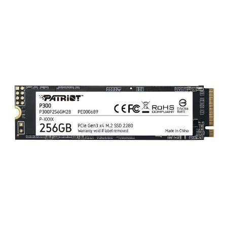 SSD 256GB NVME M.2 P300 P300P256GM28 PATRIOT OEM