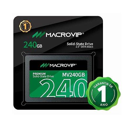 SSD 240GB SATA III MV240GB MACROVIP BOX