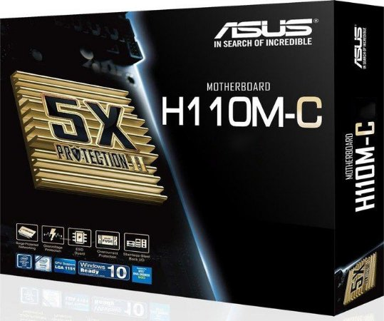 PLACA MAE 1151 MICRO ATX H110M-C DDR4 ASUS IMP