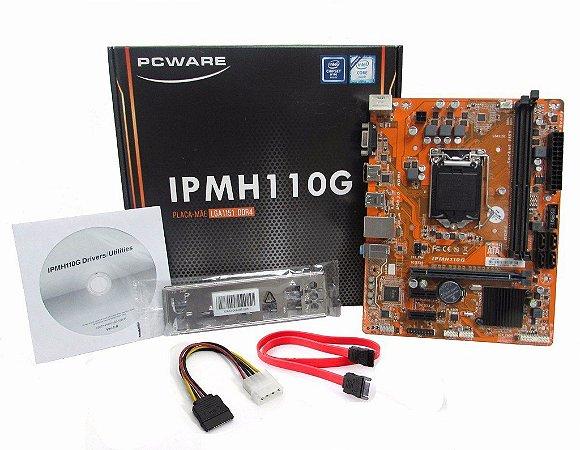 PLACA MAE 1151 MICRO ATX IPMH110G DDR4 PCWARE
